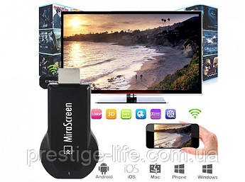 Адаптер HDMI WiFi MiraScreen iOS, Android и Windows