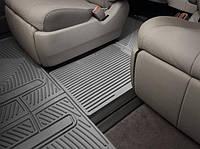 К/с Toyota Sienna коврики салона в салон на TOYOTA Тойота Sienna 2010-, перемычка, серая