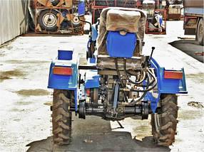 Трактор ДТЗ 160.1 (16 л.с.,колеса 5,00-12/6,5-16,  регулируемая колея, с генератором), фото 2