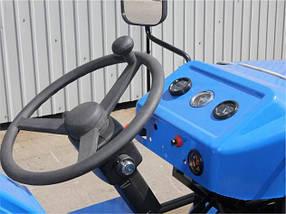 Трактор ДТЗ 160.1 (16 л.с.,колеса 5,00-12/6,5-16,  регулируемая колея, с генератором), фото 3