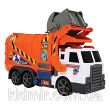 Іграшковий Сміттєвоз з контейнером (світло, звук) Grabage Truck Dickie 3308369