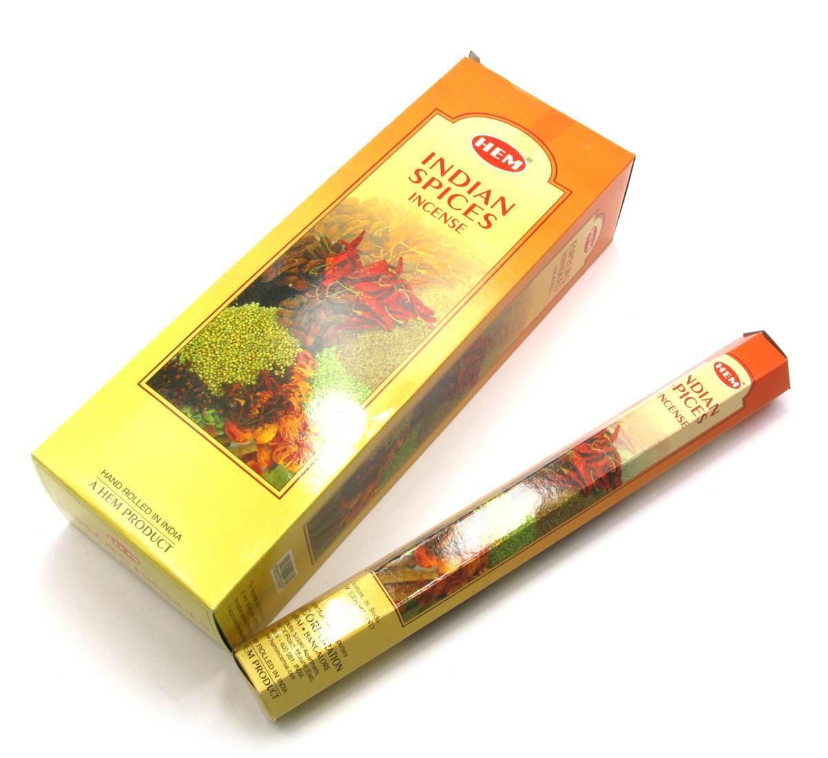 Indian Spice (Индийские специи) (Hem)(6/уп) шестигранник