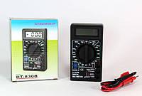 Мультиметр DT 830 B, Тестер вольтметр амперметр, Электронный  мультиметр, Компактный тестер