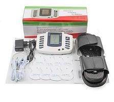 Импульсный массажер электромиостимулятор с массажными тапочками