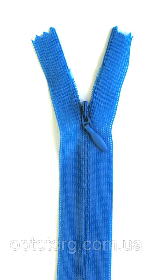 Молния змейка потайная плательная 18см пластиковая змейка от optotorg.com.ua