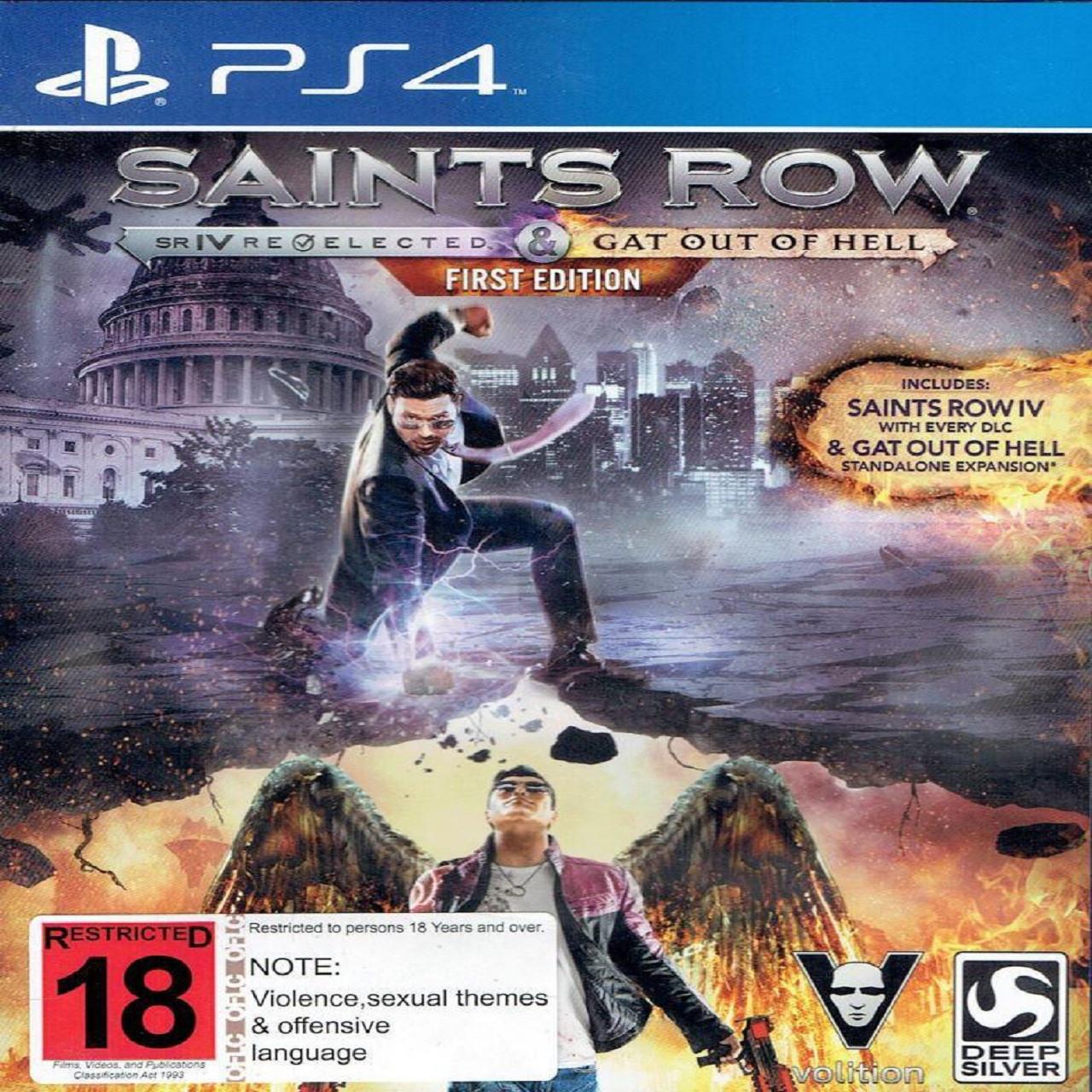 Saints Row IV (російська версія) PS4 (Б/В)