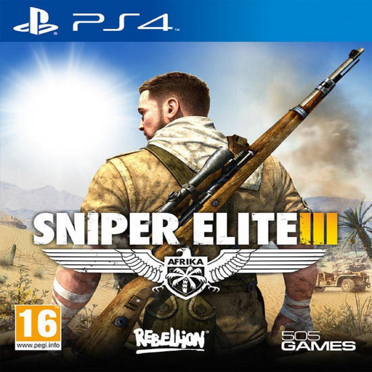 Sniper Elite 3 RUS PS4 (Б/В)