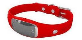 Ошейник GPS трекер для собак Samtra S1 водонепроницаемый красный