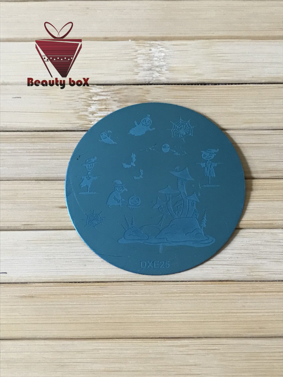 Пластина для стемпинга (круглая) DXE 25