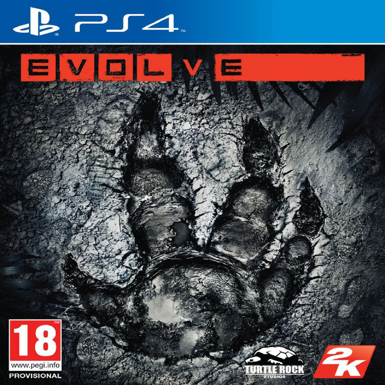 Evolve (англійська версія) PS4 (Б/В)