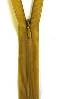 Молния потайная Горчичный 18см пластиковая неразъемная спираль Kiwi