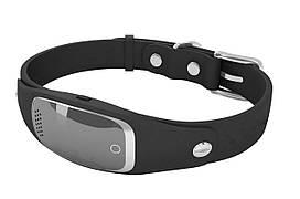 Ошейник GPS трекер для собак Samtra S1 водонепроницаемый черный