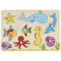 Goki Пазл деревянный Подводный мир 57953 (57953)