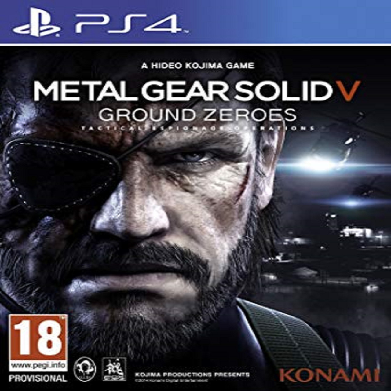 Metal Gear Solid V: Ground Zeroes ENG PS4 (Б/В)