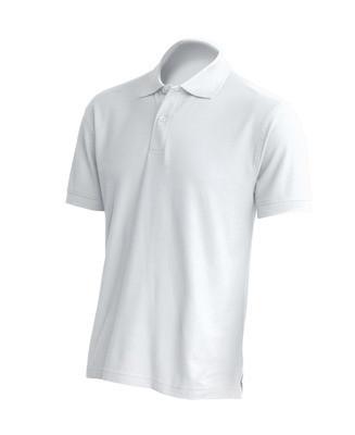Футболка - поло мужская, униформа для персонала, 100% хлопок, JHK T-shirt , Испания,  от XS до 5XL