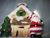 Новогодний,мигающий Дед Мороз