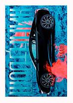 """Щоденник ученический 12 баллов твердая обложка 40 листов """"Спортивные ретро автомобили"""" /4 дизайна/"""
