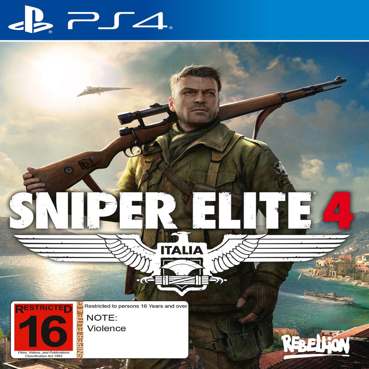 Sniper Elite 4 PS4 RUS (Б/В)