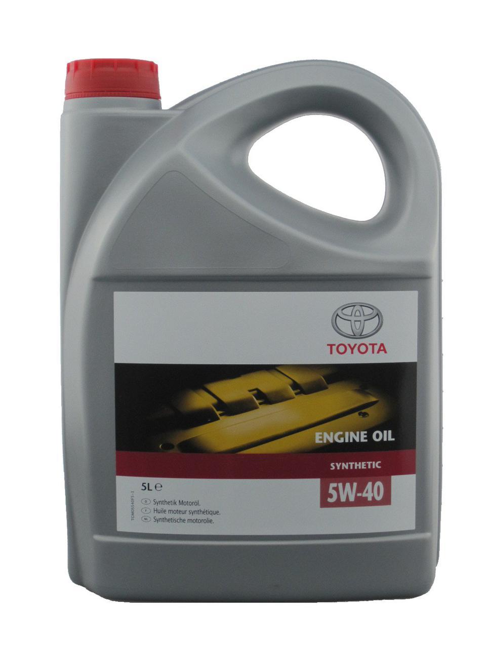 Toyota Engine Oil 5W-40 5л