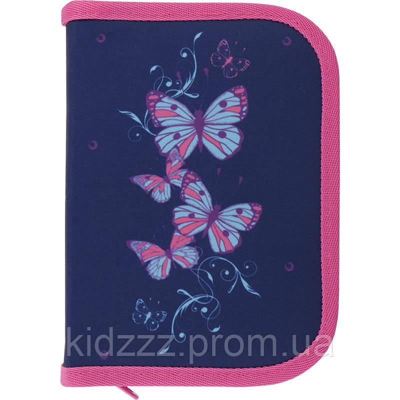 Школьный пенал  с бабочками Kite (Кайт)