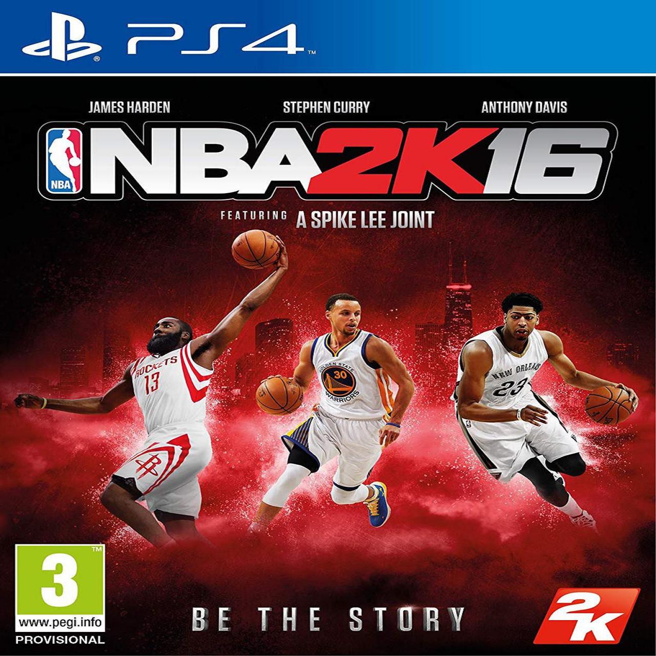 NBA 2k16 ENG PS4 (Б/В)
