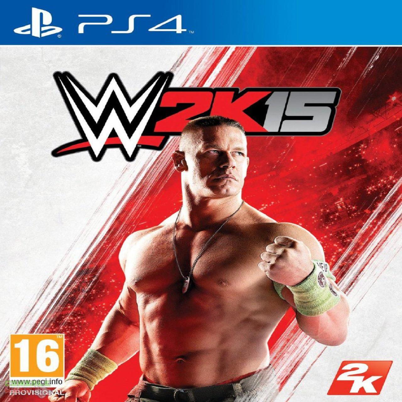 WWE 2K15 ENG PS4 (Б/В)