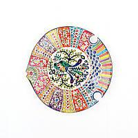 """Тарелка """"Рыбка"""" d 26 см. Риштан/Узбекистан"""