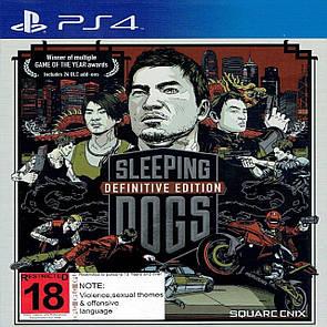 Sleeping Dogs(Steelbook) ENG PS4 (Б/В)