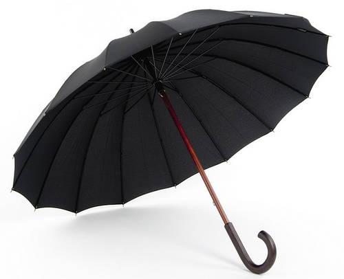 Зонт-трость мужской механический Doppler London, артикул: 74166. Гарантия 1 год!
