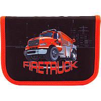 Школьный пенал Пожарная машина  Firetruck  Kite (Кайт), фото 1