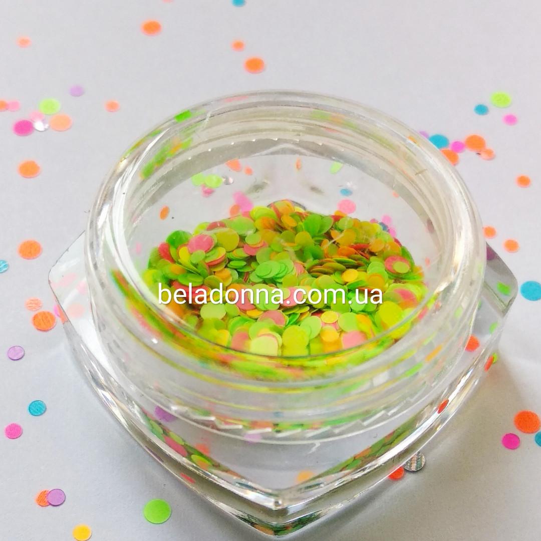 Блестки микс конфети