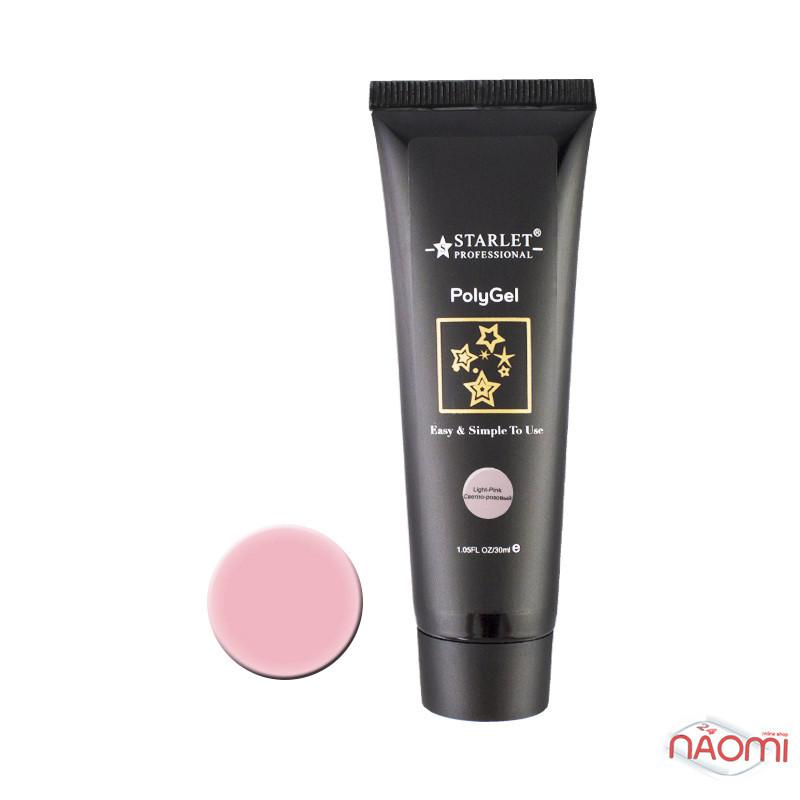 Полигель STARLET PROFESSIONAL светло розовый, 30 мл