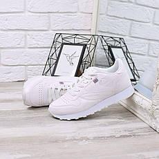 """Кроссовки, кеды, мокасины женские белые """"RB"""" эко кожа, спортивная, летняя, повседневная женская обувь, фото 3"""