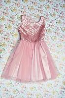 Красивое, нежное платье для девочки 122, 128, 134, 140.