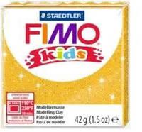 Пластика FIMO kids жовта перламутрова 42г (1)