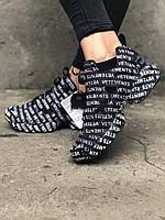 Женские кроссовки в стиле Reebok Insta Pump Fury x Vetements Black