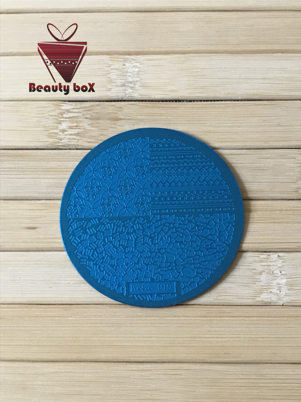 Пластина для стемпинга (круглая) hehe 019