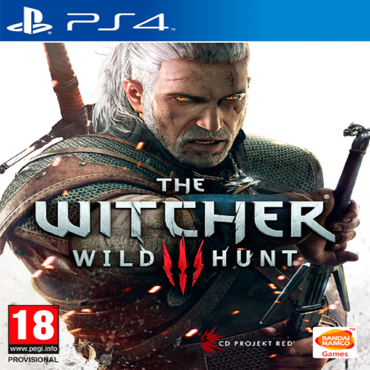 The Witcher 3: Wild Hunt RUS PS4 (Б/В)