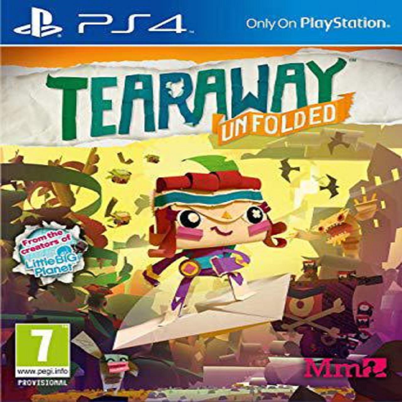 Tearaway Unfolded (російська версія) PS4 (Б/В)