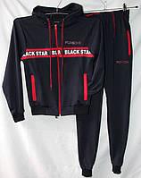 ad9bece83284 Спортивный костюм детский трикотажный PORSCHE на мальчика 6-12 лет купить  оптом со склада 7км