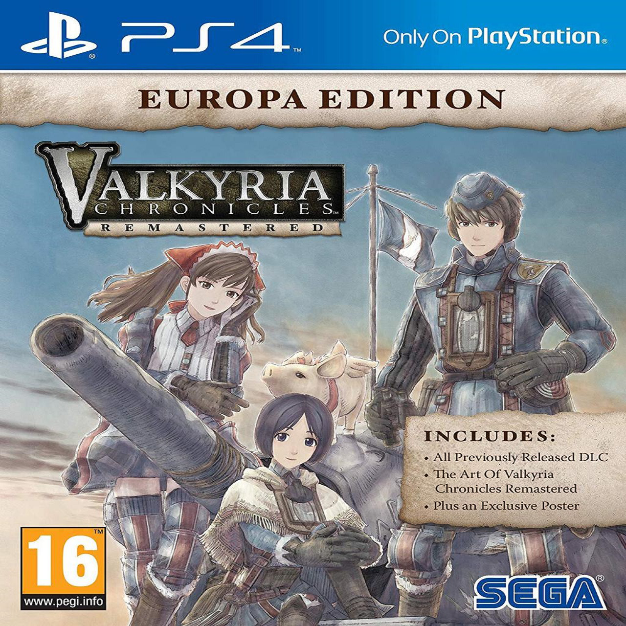 Valkyria Chronicles: Europa Edition ENG PS4 (Б/В)