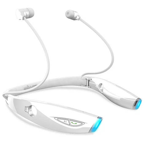 Бездротові навушники з мікрофоном (гарнітура) Zealot H1 White, фото 2