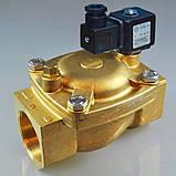Электромагнитный клапан для воды 21W8KB650 (ODE, Italy), G2 1/2, фото 2