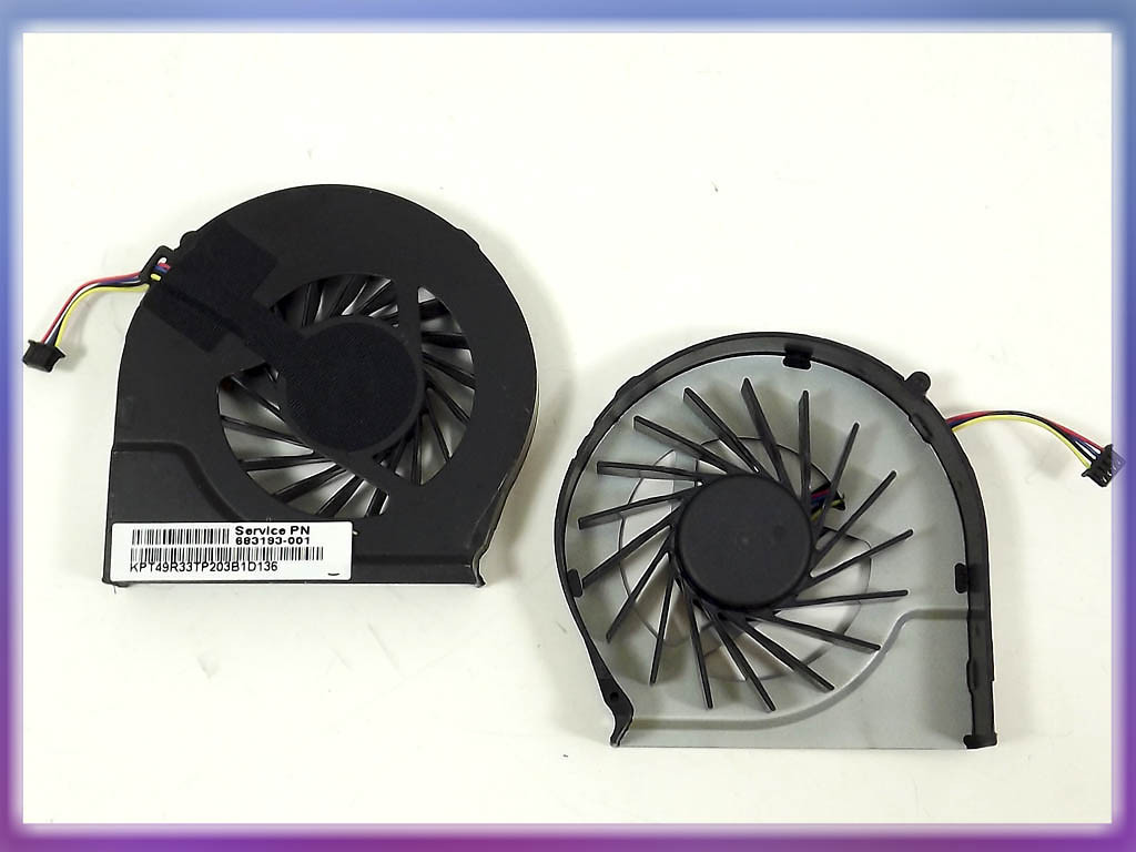 New For HP Pavilion G4-2000 G6-2000 series 683193-001 CPU fan