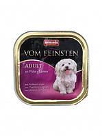 Консервы Animonda Vom Feinsten (Анимонда Вом Фенштейн) для собак индейка и ягненок 150 г