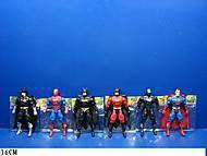 Фигурки супергерои, свет, 6 видов, 8077-08