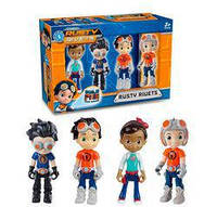 Игровой набор Rusty Rivets, 4 героя, C410