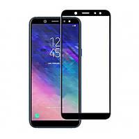Защитное стекло Full Screen Tempered Glass для Samsung Galaxy A6 2018