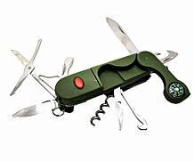 Туристичний ніж з набором інструментів