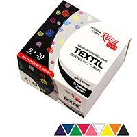 Краска акриловая для ткани Rosa Talent набор 9цв. по 20мл 134920